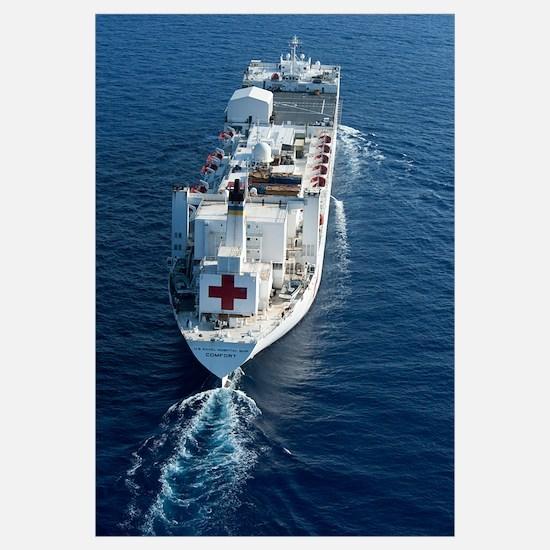 The Military Sealift Command hospital ship USNS Co