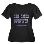 Sh*T Creek Survivor Women's Plus Size Scoop Neck D