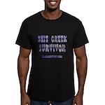 Sh*T Creek Survivor Men's Fitted T-Shirt (dark)