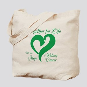 Stop Kidney Cancer Tote Bag