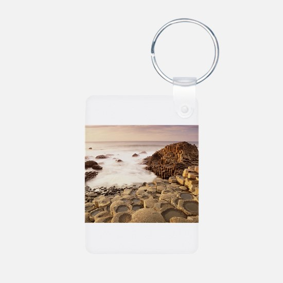 New Section-Giants Causeway, Aluminum Photo Keycha