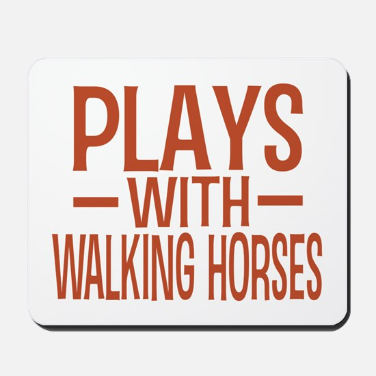 PLAYS Walking Horses Mousepad
