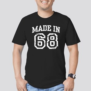 Made in 68 Men's Fitted T-Shirt (dark)