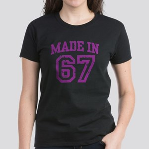 Made in 67 Women's Dark T-Shirt