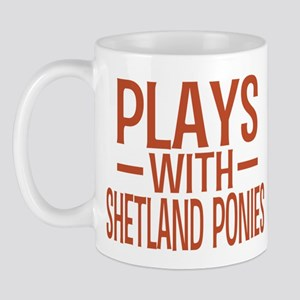 PLAYS Shetland Ponies Mug