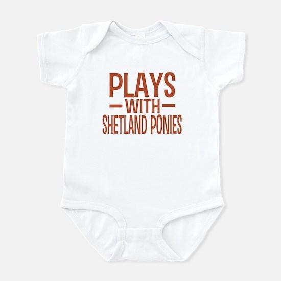 PLAYS Shetland Ponies Infant Bodysuit
