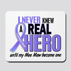 Never Knew a Hero Esophageal Cancer Mousepad