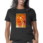 Japanese Geisha Playing th Women's Classic T-Shirt