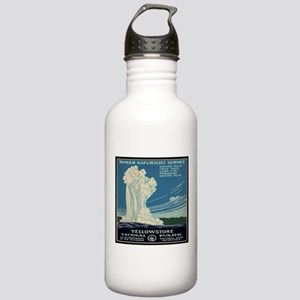 I'd Rather Be In Yellowstone Stainless Water Bottl