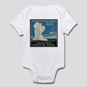 I'd Rather Be In Yellowstone Infant Bodysuit
