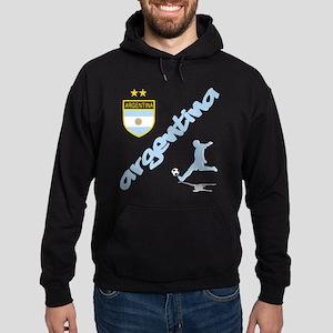 Argentina Soccer Hoodie (dark)