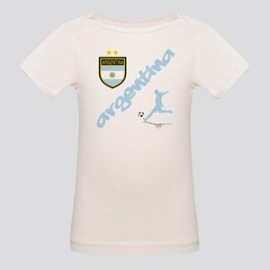 Argentina Soccer Organic Baby T-Shirt