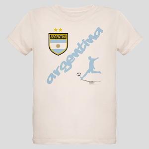 Argentina Soccer Organic Kids T-Shirt