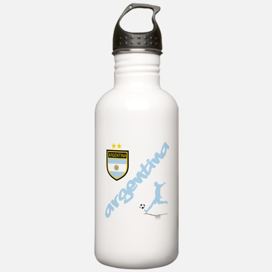 Argentina Soccer Water Bottle