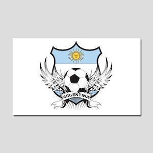 Argentina Soccer Car Magnet 20 x 12