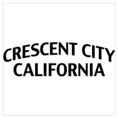 Crescent City California Wall Art Canvas Art