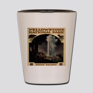 Yellowston National Park Union Pacific Shot Glass