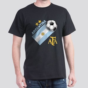 Argentina Soccer Dark T-Shirt