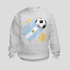 Argentina Soccer Kids Sweatshirt