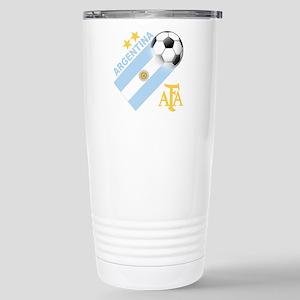 Argentina Soccer Stainless Steel Travel Mug