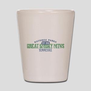 Great Smoky Mountains Nat Par Shot Glass