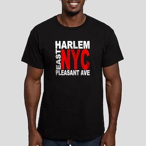 East harlem Men's Fitted T-Shirt (dark)