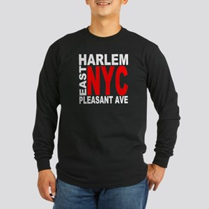 East harlem Long Sleeve Dark T-Shirt