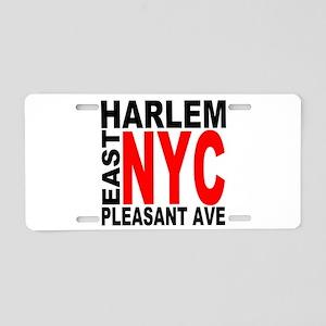 East harlem Aluminum License Plate