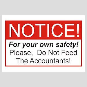 Notice / Accountants Wall Art