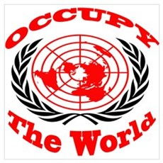Occupy The World Wall Art Poster