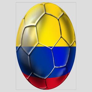 Colombian Soccer Futbol Wall Art
