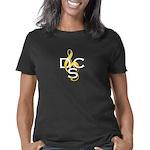 Two tone mark dark bgd Women's Classic T-Shirt