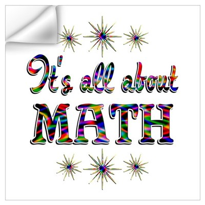 About Math Wall Art Wall Decal