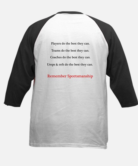 Sportsmanship (Text on front & back) Tee
