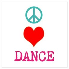 Dance 5678 Wall Art Canvas Art