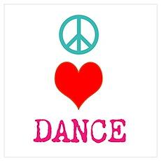 Dance 5678 Wall Art Poster
