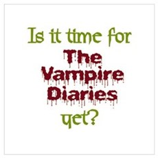 Time for Vampire Diaries Wall Art Framed Print
