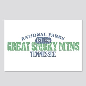 Great Smoky Mountains Nat Par Postcards (Package o