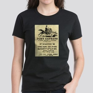 Pony Express Women's Dark T-Shirt