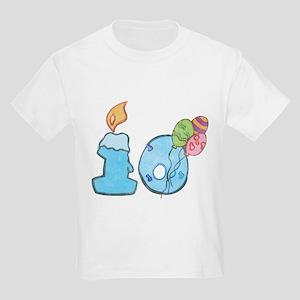 Child's Tenth Birthday Kids T-Shirt