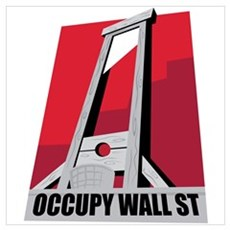 Occupy Wall St Wall Art Poster
