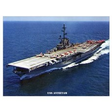 USS ANTIETAM Wall Art Poster