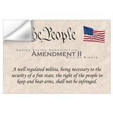 Bill of rights Wall Decals