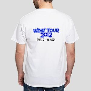 WDW Tour 2012 Date White T-Shirt