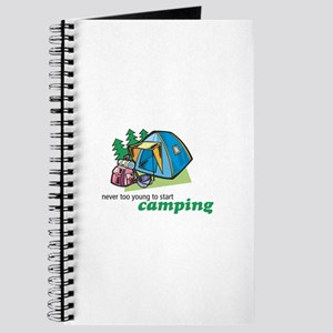 Never Too Young to Start Camping Journal