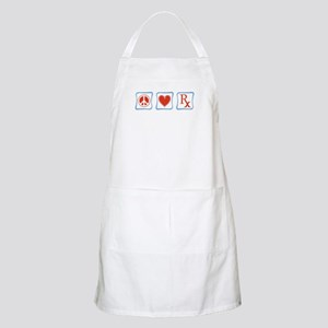 Peace, Love and Pharmacists Apron