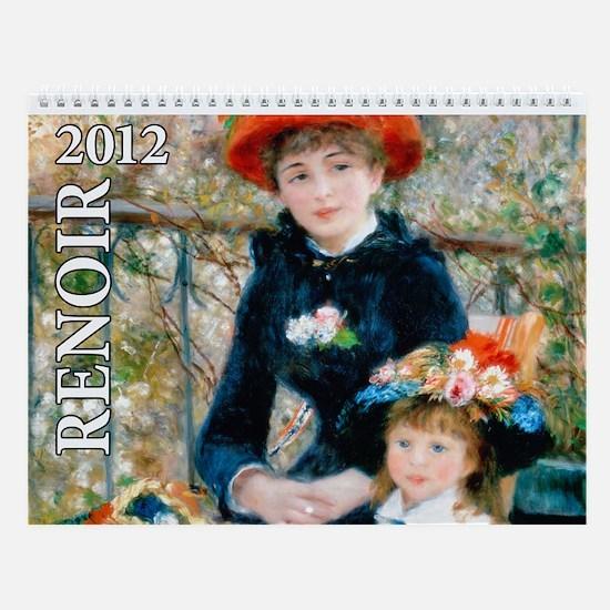 Renoir Wall Calendar