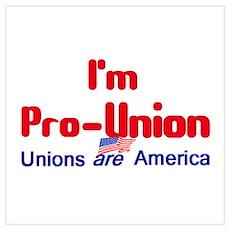 Pro Union Wall Art Poster