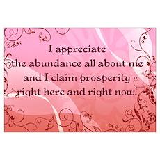Prosperity Wall Art Poster