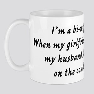 When my girlfriend visits my  Mug